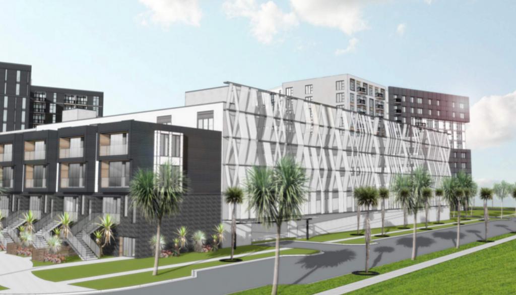 450-unit apartment complex