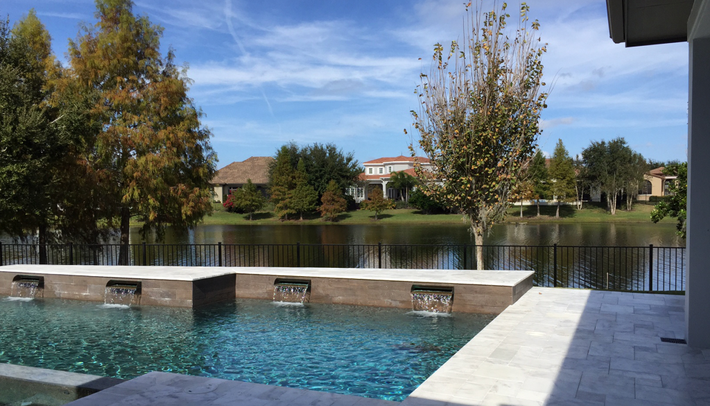 Lake Nona Residence - Pool environment/View of Pond